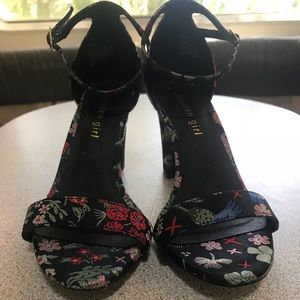 Shoes - Asian / Oriental Print Sati Heels Madden Girl